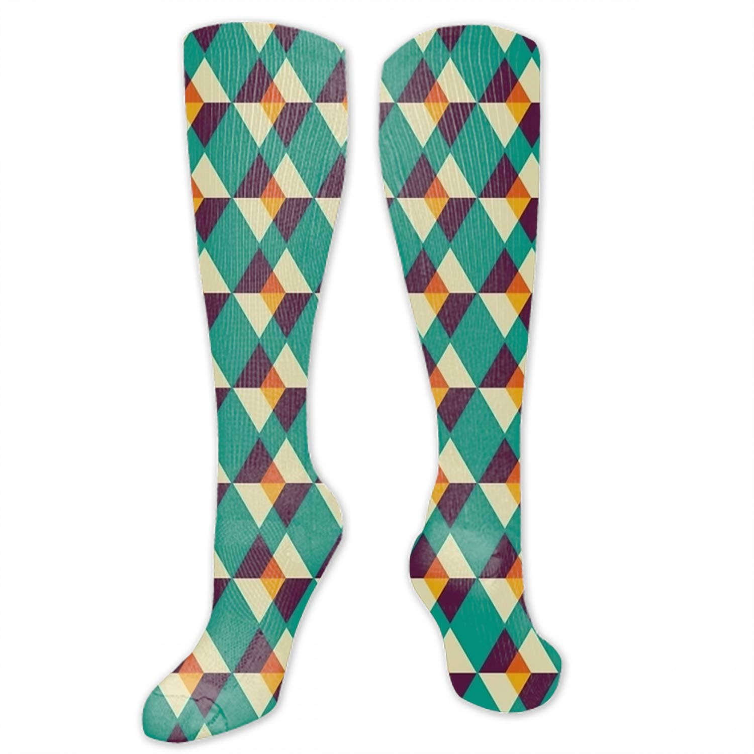Novelty Cotton Knee High Fun Socks 1 Pairs for Junior and Women