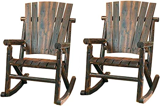 Leigh Country Char-Log Rocker Chair Combo Rocker Chair 2