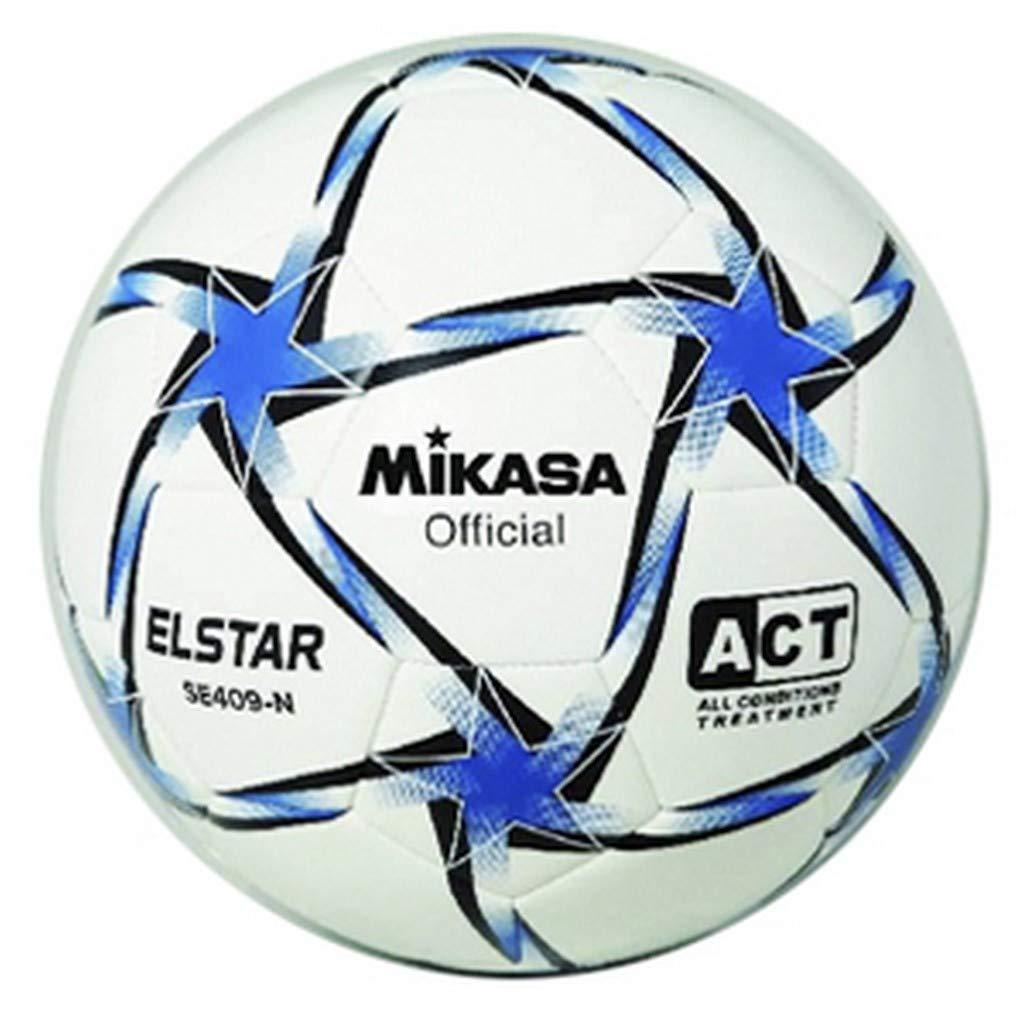 Mikasa Balón Fútbol Cuero Sintetico SE 409 N: Amazon.es: Deportes ...