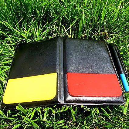 Amazon.com: Bazar Fútbol Champion Amarillo y Rojo tarjeta ...