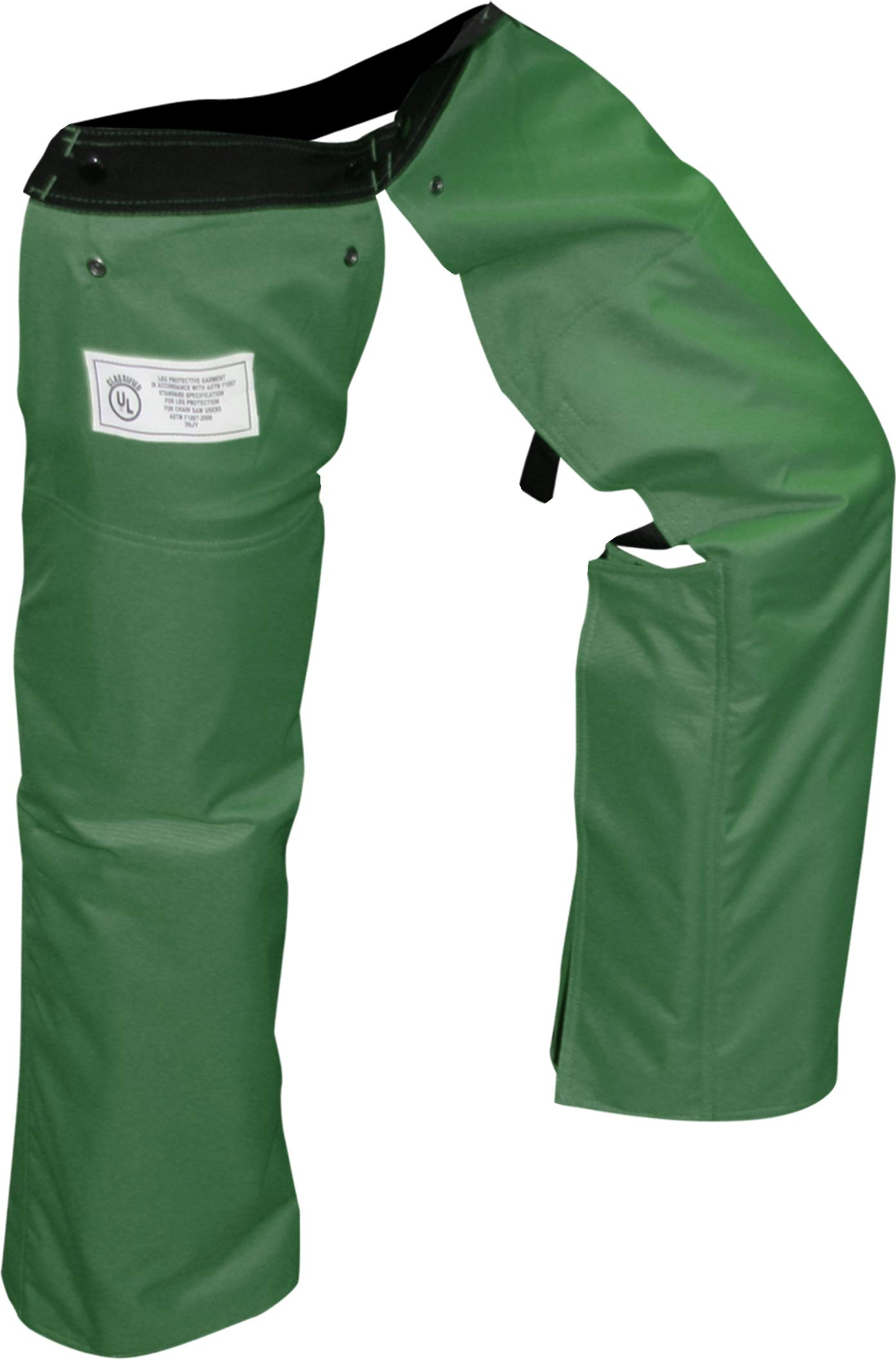 Forester Chainsaw Chaps Zipper Style Forest Green Long