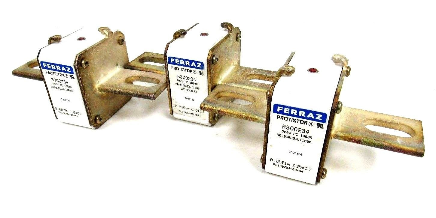 NEW LOF OF 3 FERRAZ R300234 FUSE