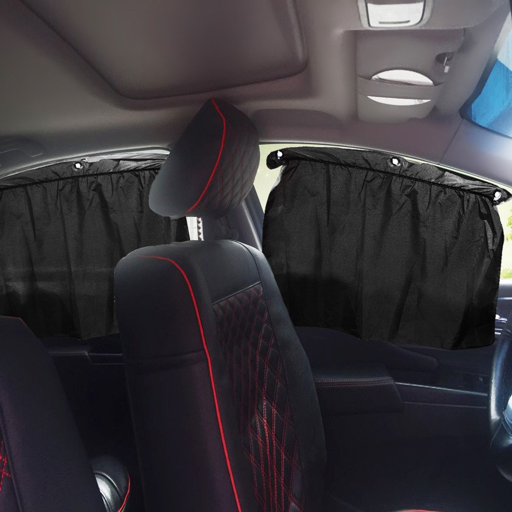 Gaddrt Car Sun Shade Blackout Curtains Thermal Insulated Car Accessories Block UV Harmful Rays For Side Windows
