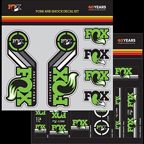 FOX Decal 2015 AM Heritage, Fork and Shock Kit, - Am Shock