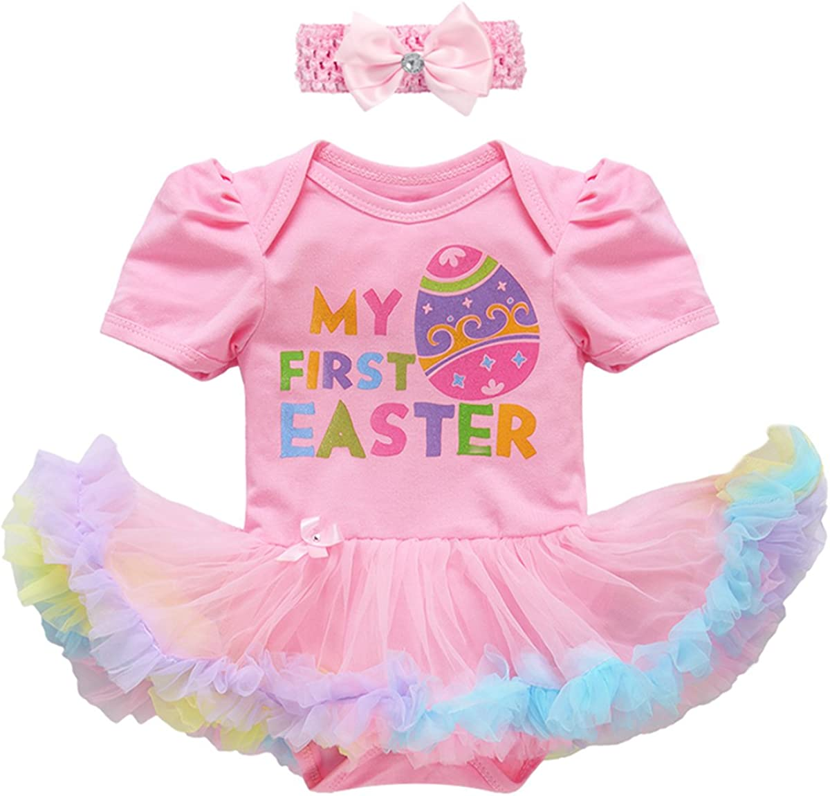 Easter Baby or Toddler Headband Bunnies /& Easter Eggs