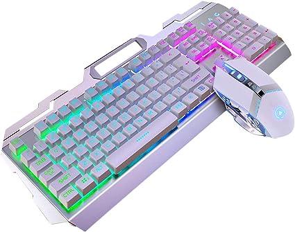 DUMGRN Juego de teclado y ratón para videojuegos, juego con ...