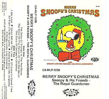 Snoopy, The Royal Guardsmen - Merry Snoopy's Christmas - Amazon ...