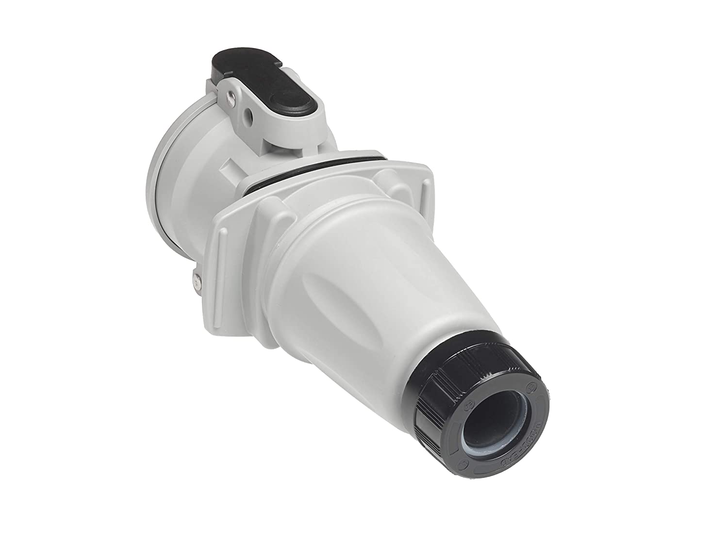 Switch Rated Connector Receptacle Woodhead 1122191041 ArcArrest 70 deg 600 V AC 3 Pole Ground Angle Plug Position 14 30A