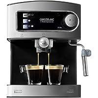 Cecotec Power Espresso 20 espressomachine met espressomachine, melk, sproeier, roestvrij staal, waterreservoir van 1,5…