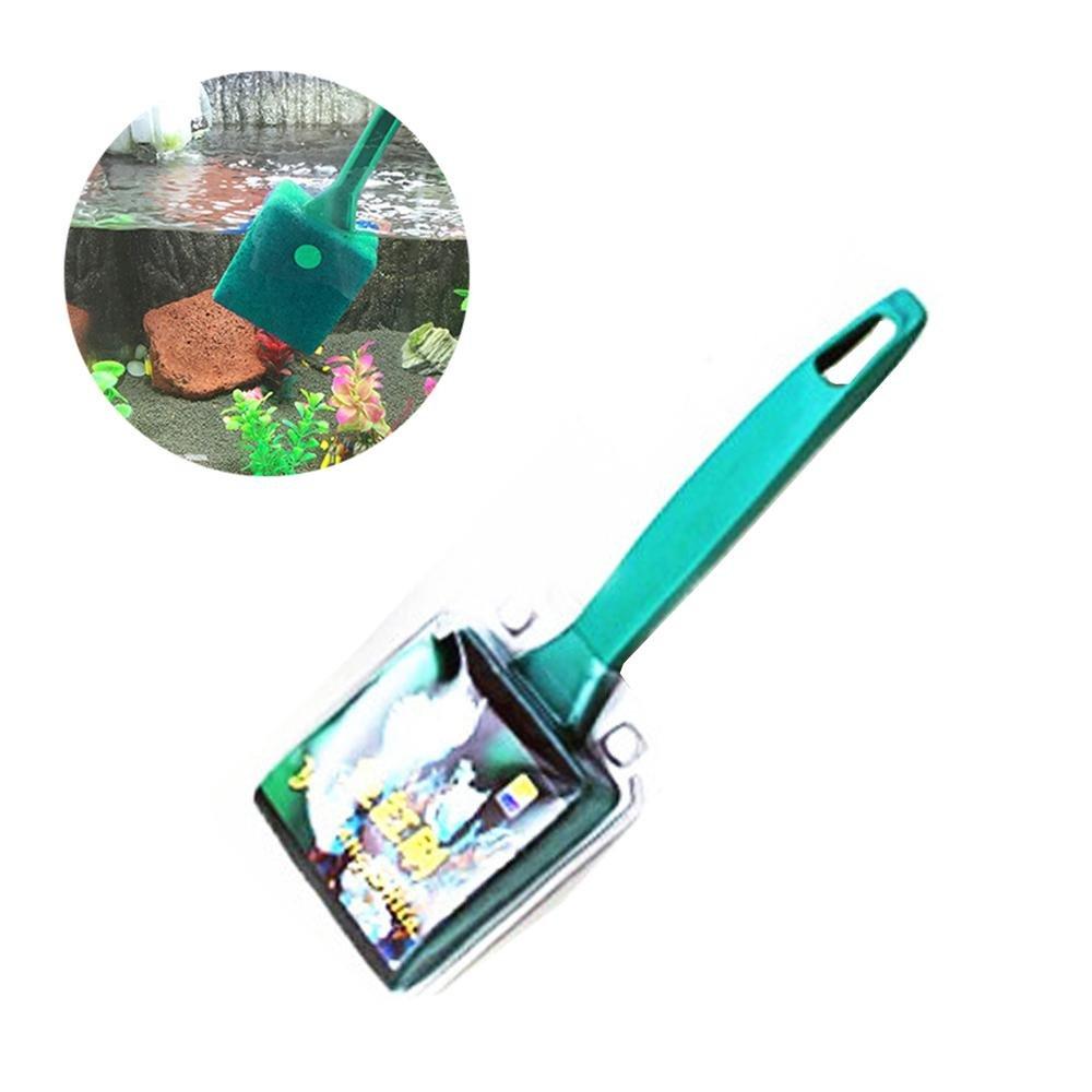 AOLVO - Cepillo Limpiador de Esponja para pecera, Doble Cara, práctico para Acuario, con Mango Antideslizante: Amazon.es: Productos para mascotas