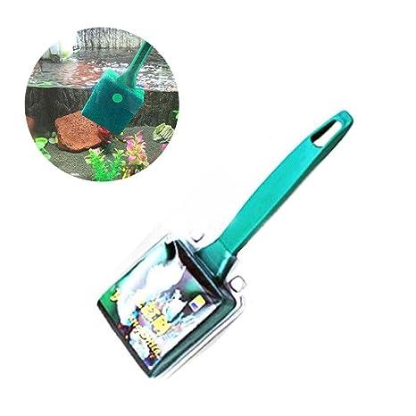 AOLVO - Cepillo Limpiador de Esponja para pecera, Doble Cara, práctico para Acuario,