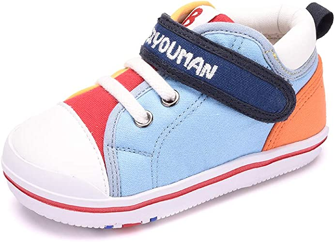Toddler Sneakers for Boys Girls,Baby Shoes First Walkers Cute Prewalkers Rubber Sole Outdoor Running Shoes Casual Shoes