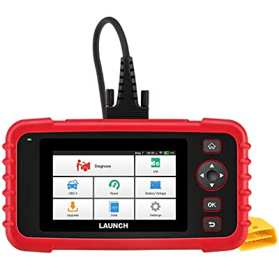 LAUNCH OBD2 Scanner CRP129X Car Code Reader Scan Tool for ABS SRS Transmission Engine Diagnostic, Oil Reset, EPB/SAS/TPMS Reset and Throttle Matching Android Based WiFi AutoVIN Free Update: Automotive