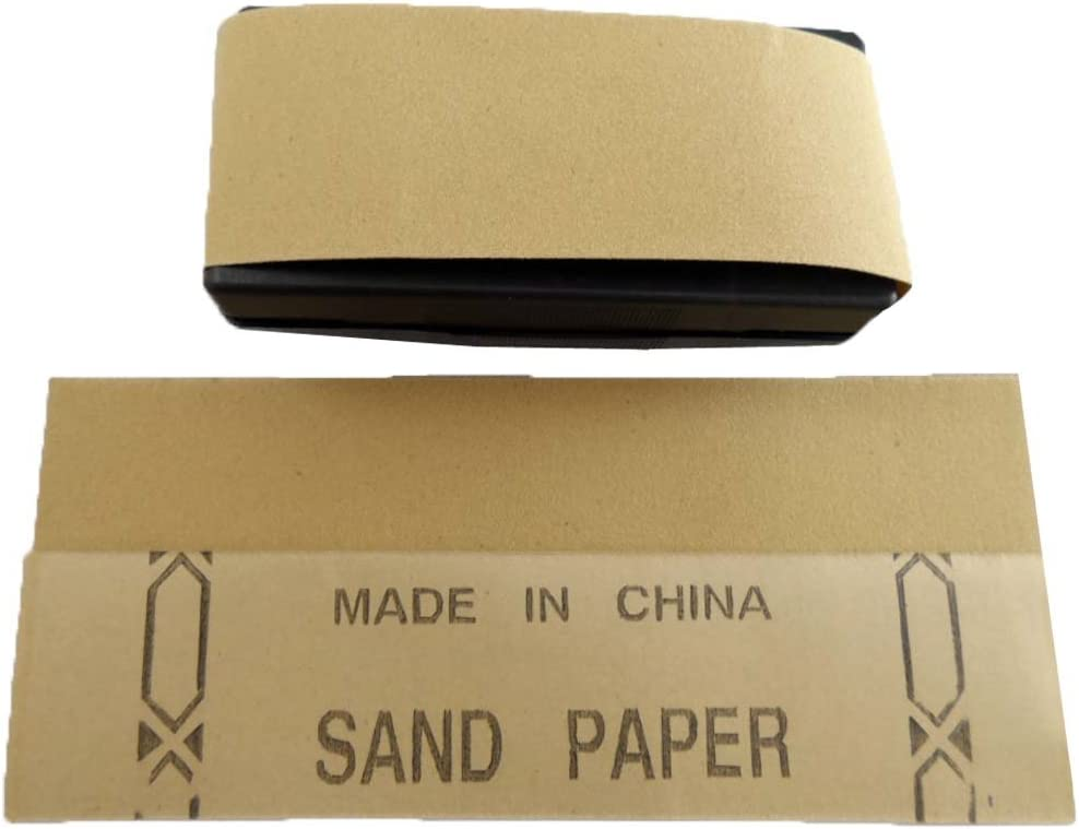Plastic Sand Paper Holder with 12 Sandpapers