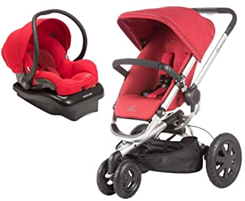 Amazon.com: Quinny Buzz Xtra Travel System, Rojo: Baby