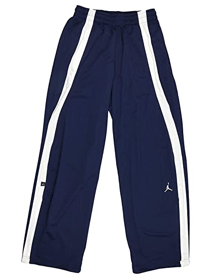 ac6789048f73 Nike Air Jordan Men s Warmup Athletic Pants Blue Size Small 509154-420