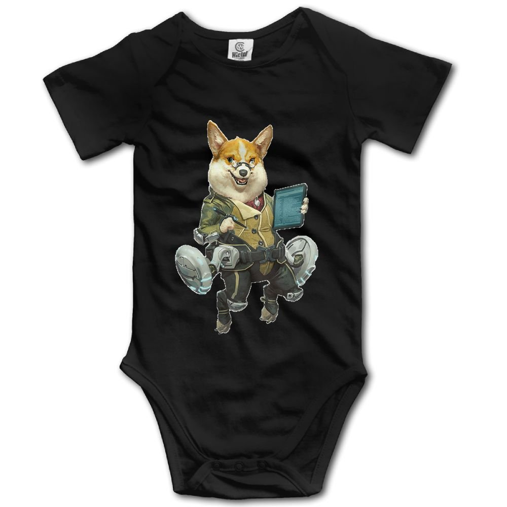 Rainbowhug Corgi Dog Unisex Baby Onesie Cute Newborn Clothes Funny Baby Outfits Comfortable Baby Clothes