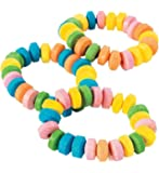 Fun Express Stretchable Candy Bracelets -48 Count
