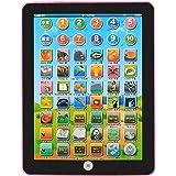 LeanningTech 子供用タブレット 7インチ 多機能子供のためのタブレット教育玩具のシミュレーション 18の機能 (ピンク)