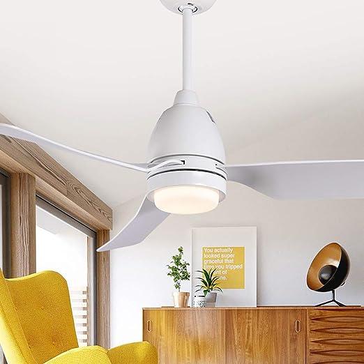 YBCD - Lámpara LED para Ventilador de Techo (112 cm), diseño Retro ...