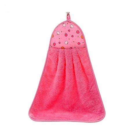 Toalla de mano para colgar en el baño o la cocina, ideal para colgar en