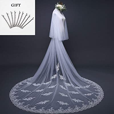 Lovely Wedding Veil European Tail Lengthening Plus Broadband