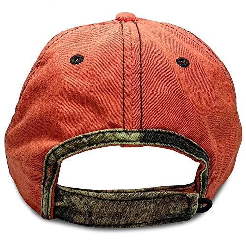 2a33ca3a208ff Fishing Hat Orange Dad Cap - Baseball Cap Fishing Cotton Hat - - Import It  All