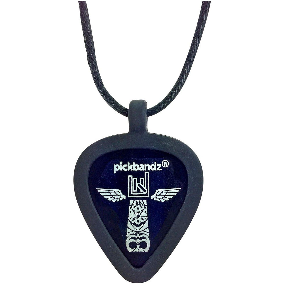 'Guitarra epicb cuello patente Epic negro Pick Holder PickBandz EpicBlack