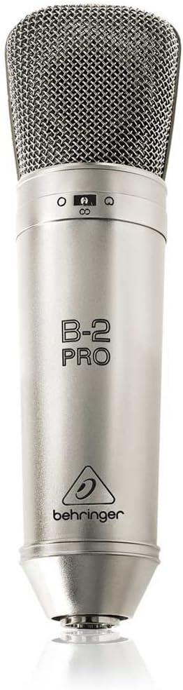 B000CZ0RLA Behringer B-2 PRO Professional Gold-Sputtered Large Dual-Diaphragm Studio Condenser Microphone 612B7MpZDDiL.SL1000_