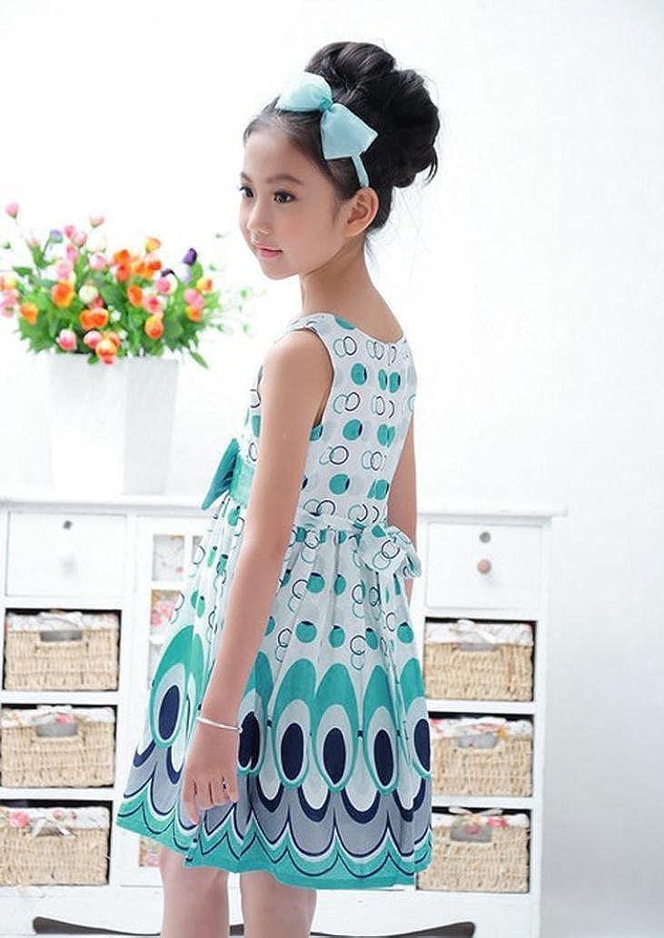 Babybekleidung,Resplend Kinder Mädchen Prinzessin Kleid Bowknot ...