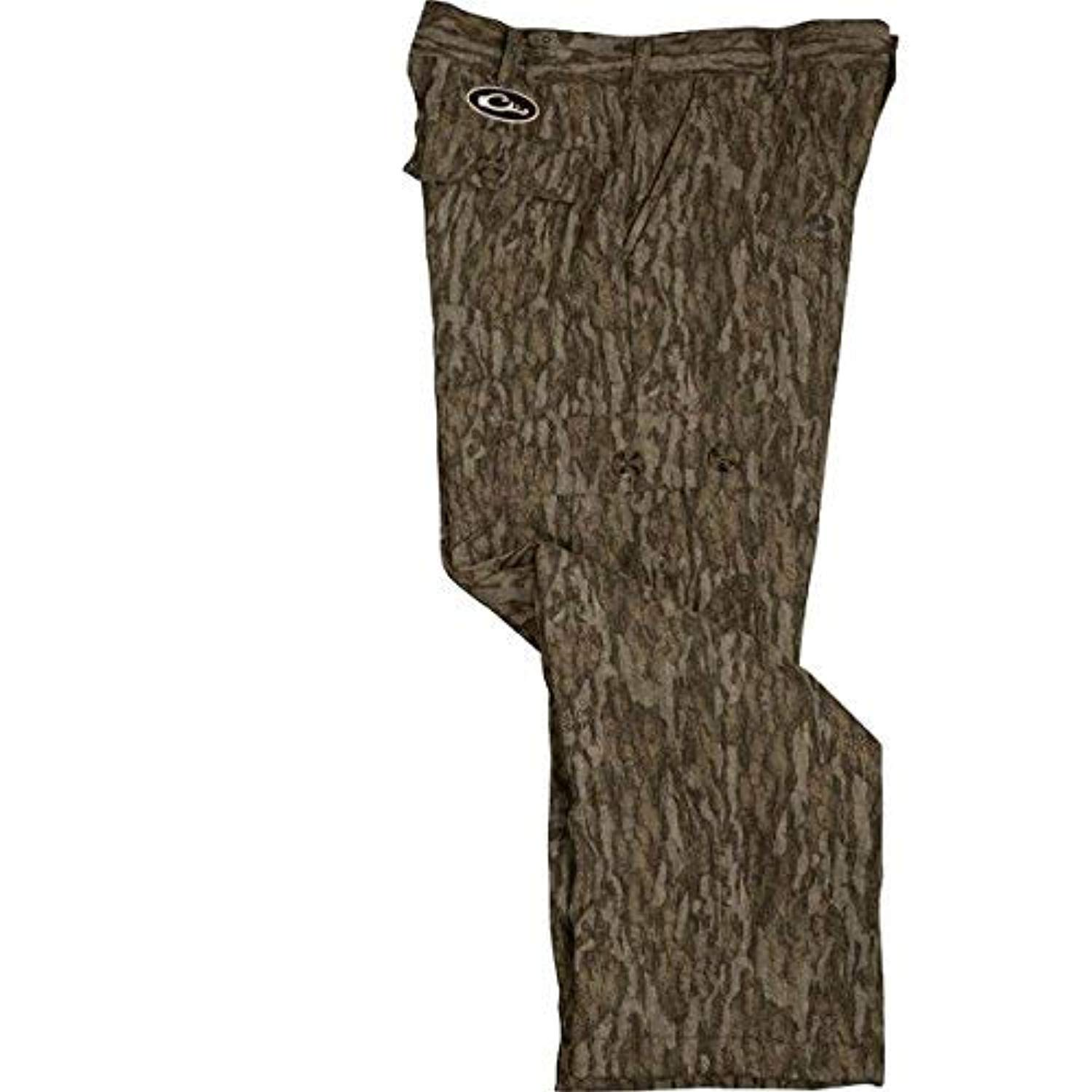 Drake Youth MST Windproof Bonded Fleece Pant Mossy Oak Bottomland 12 by Drake