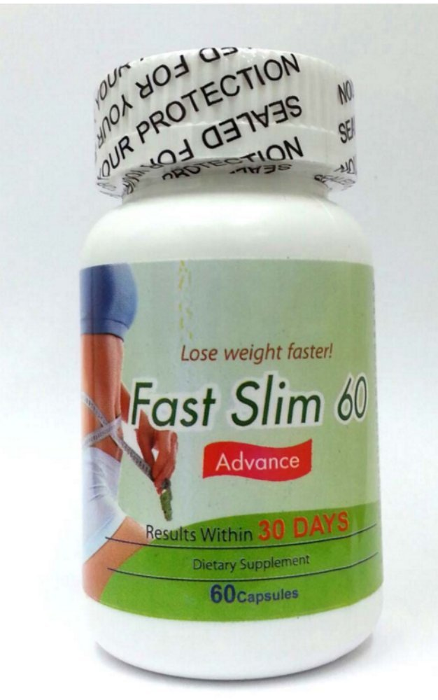 Fast Slim 60 Diet - EZ Body Slim 30 - Appetite Control with Energy, Safe & Fast Weight Loss in 30day