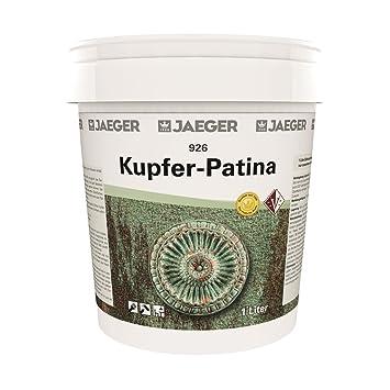 Jaeger Kupfer Patina Mit Grunspan Farbe Mit Grunspaneffekt 1 0 L