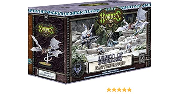 Amazon.com: Privateer Press Hordes: Legion of Everblight Battlegroup Starter Box MKIII: Toys & Games