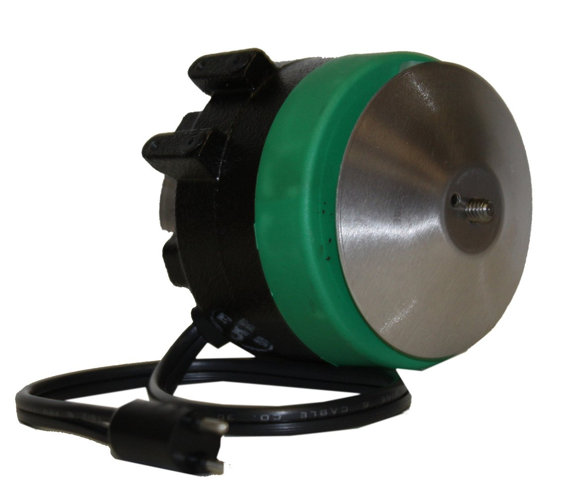 A.O. Smith 9207F2 6-9-12 Watts, CWLE Rotation, 1/4 by 20 THD Shaft, 5 Mounting Holes Two Feet Cast Iron Unit Bearing Motor