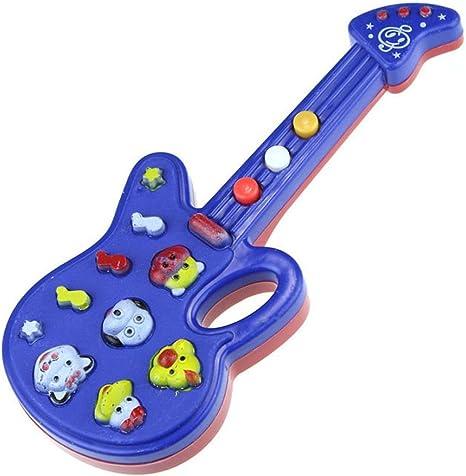 kingko Educación Juguete guitarra electrónica juguete Canción ...