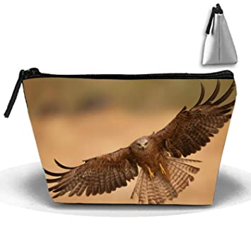 Amazon.com   Travel Makeup Bag Case for Women Cute Flying Eagle Storage  Cosmetic Bags   Beauty df21ee75f2