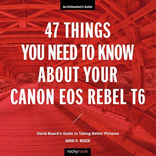 61%2B7TduvI5L - Canon Rebel T6 (1300D) User's Guide