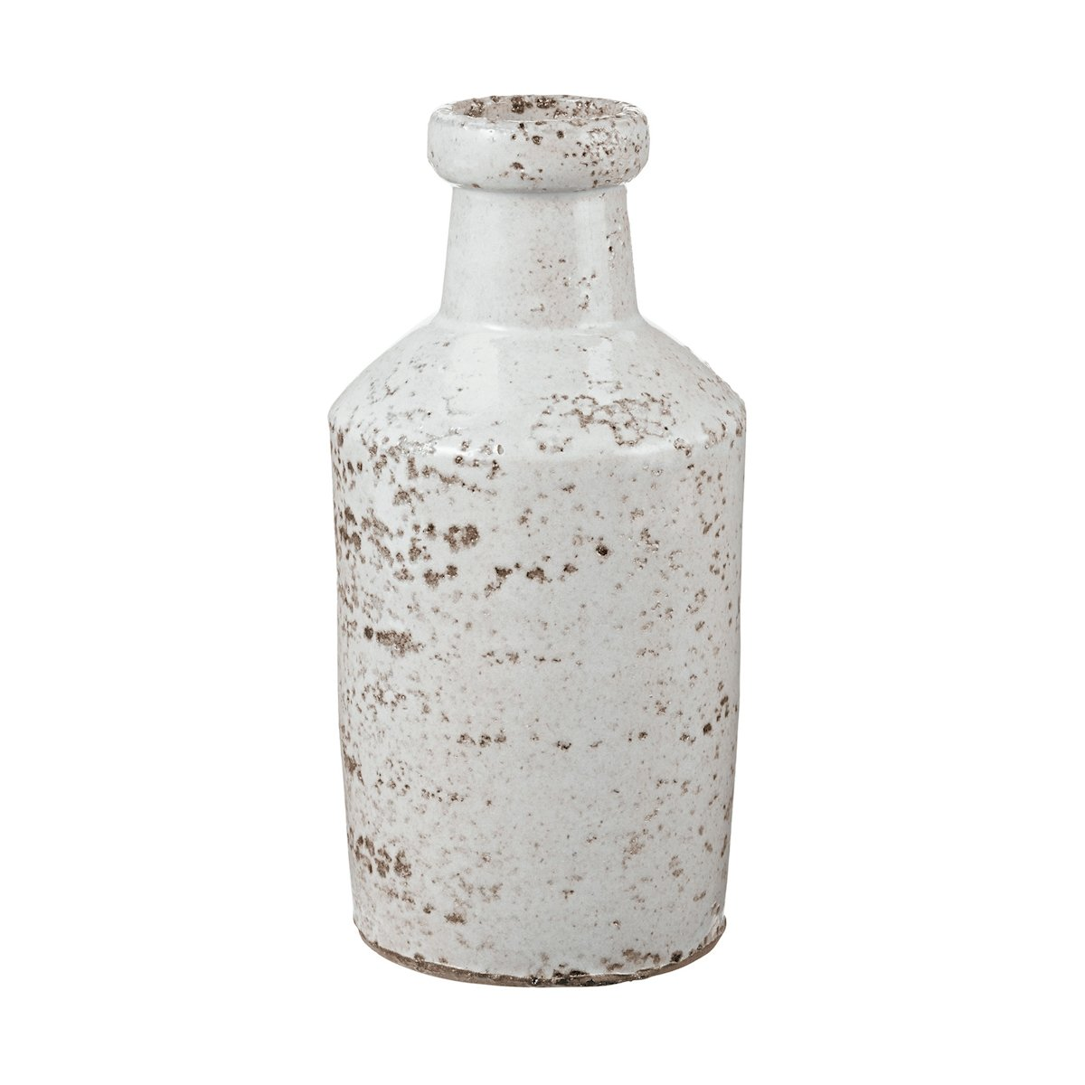Dimond Home 素朴なミルクボトル One Size ホワイト 857084 B00IIT73AU ホワイト ホワイト