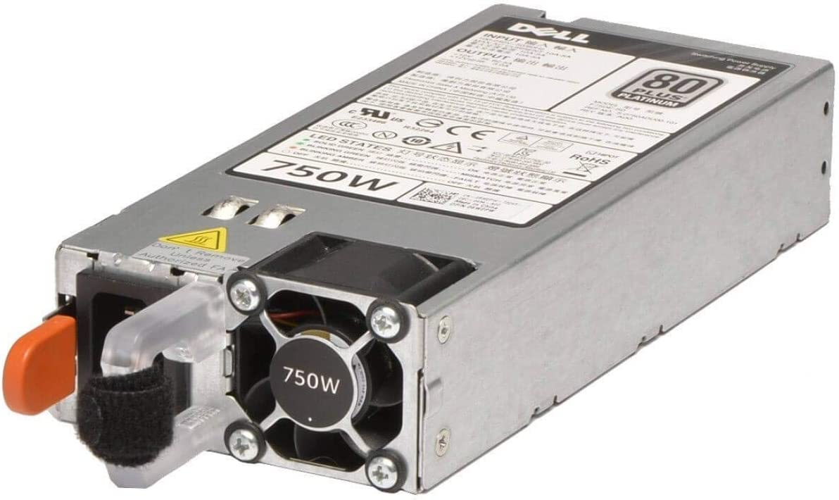 Dell 750W Redundant Power Supply for PowerEdge T620 Server Renewed