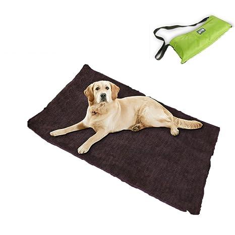 Sild mascota perro colchón plegable alfombrillas manta portátil perro gato cojín manta almohada multifunción Picnic al aire libre cojín perro cama ...