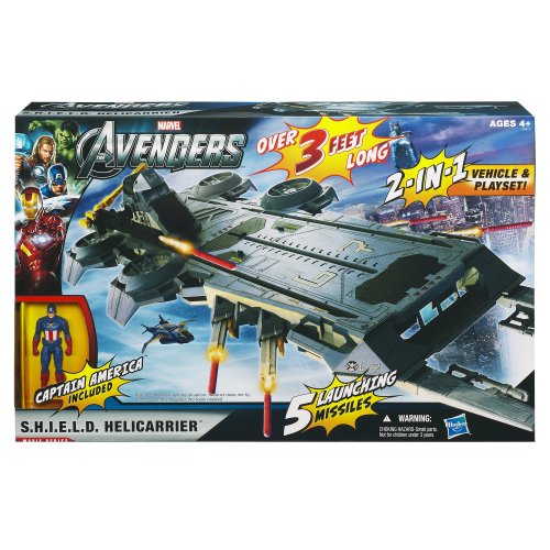 Amazon Marvel The Avengers Movie Series SHIELD Helicarrier Playset Toys Games