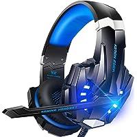 Auriculares para Juegos, Auriculares para Juegos con Aislamiento de Ruido con Cable, Control del Volumen audifonos…