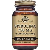 Solgar Spiruline 100 Comprimés 750 mg