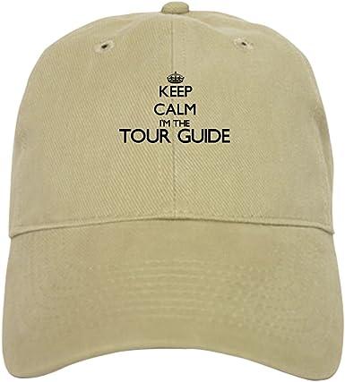 CafePress Keep Calm I'm The Tour Guide Baseball Cap