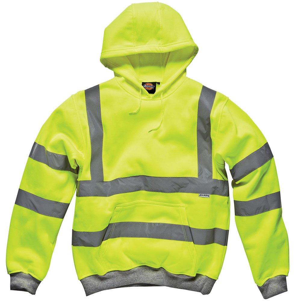 Dickies hoodie//Pullover 2 tone Felpa GREY//BLACK