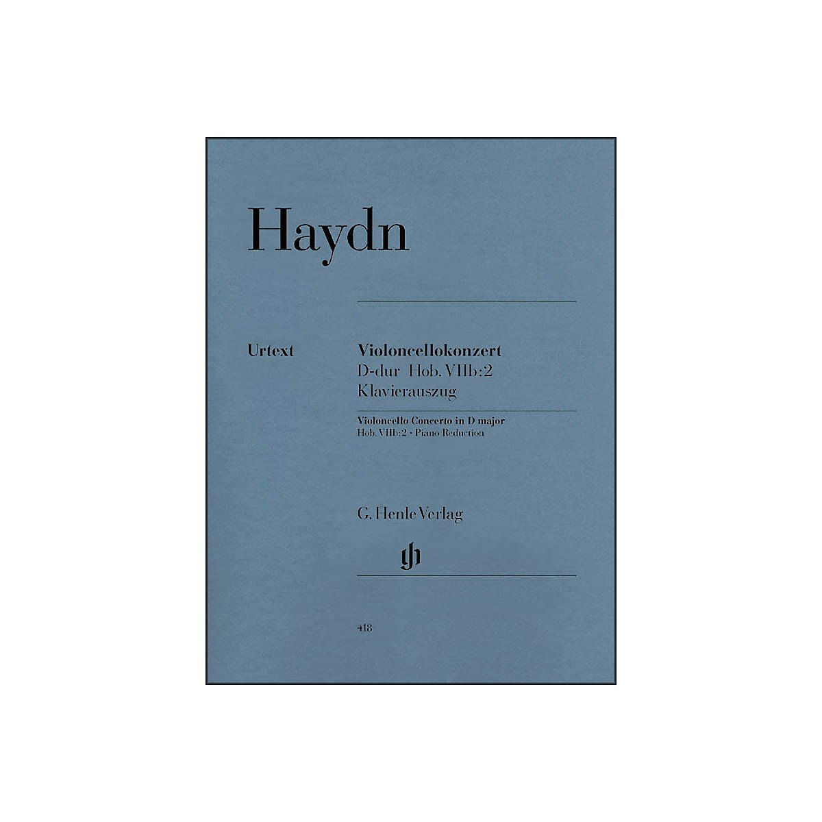 G. Henle Verlag Concerto for Violoncello and Orchestra D Major Hob.VIIb:2 By Haydn PDF