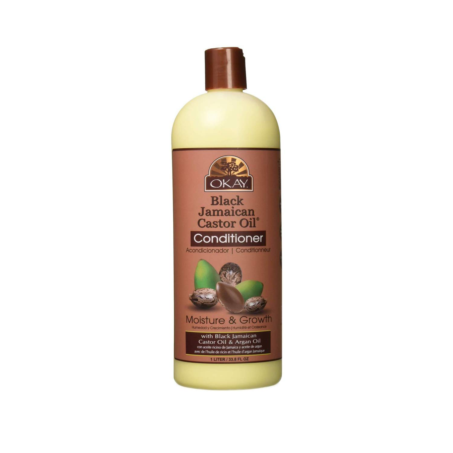Amazon.com : OKAY | Black Jamaican Castor Oil Conditioner ...