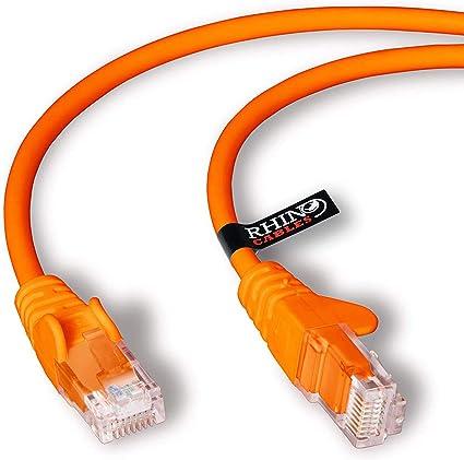 Rhinocables Netzwerkkabel Ethernet Lan Patch Kabel Computer Zubehör