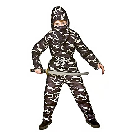 Amazon.com: Delta Force Ninja Kids Fancy Dress Warrior ...